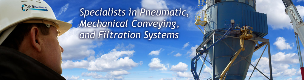 Specialists in Pneumatic, Mechanical Conveying, and Filtration Systems